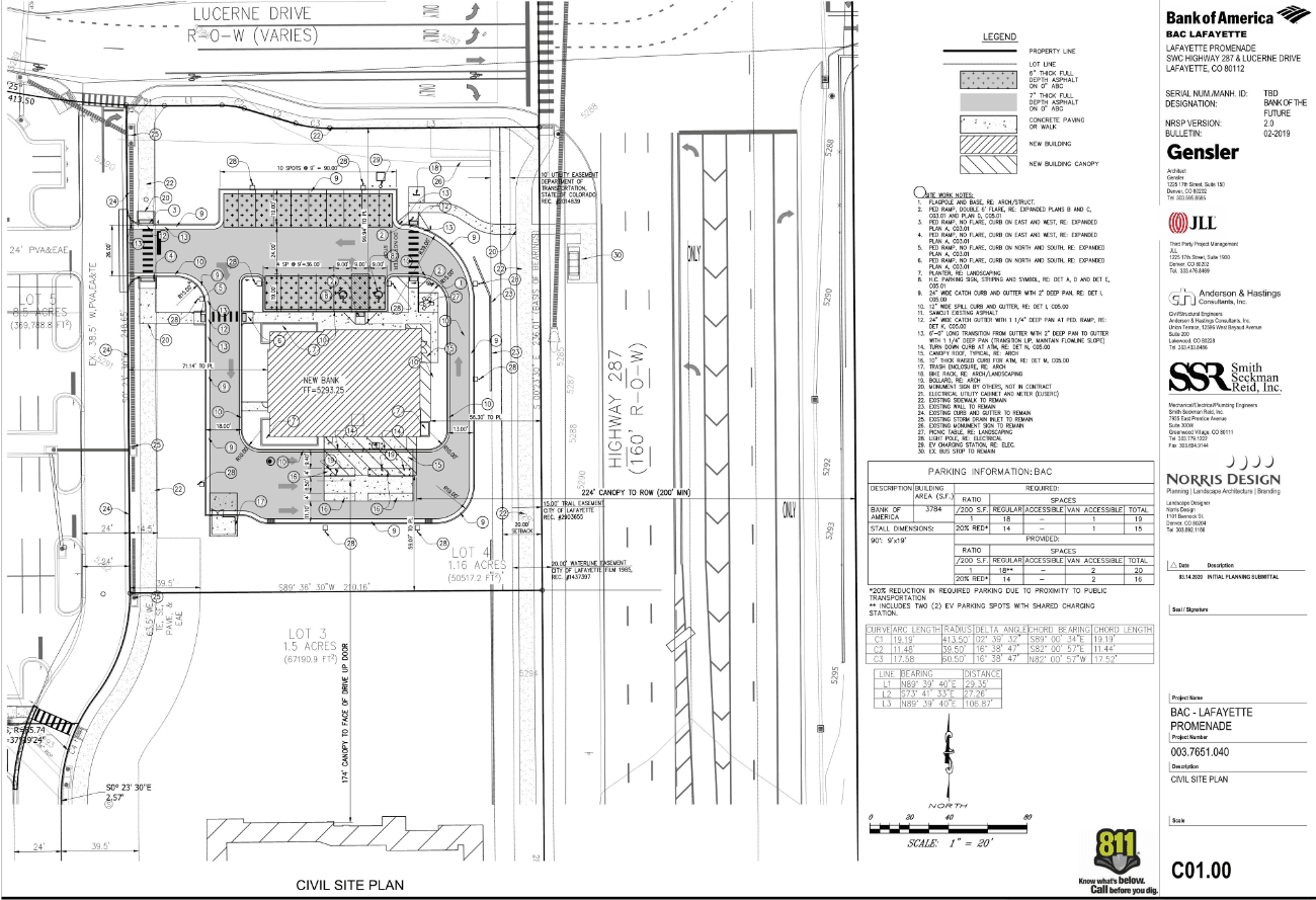 Site Plan for Lot 4 West Ridge Filing 1