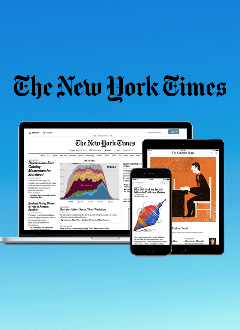 Enjoy the New York Times for free!