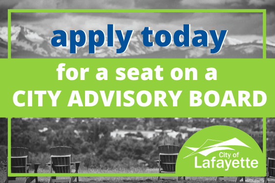 apply today city advisory board